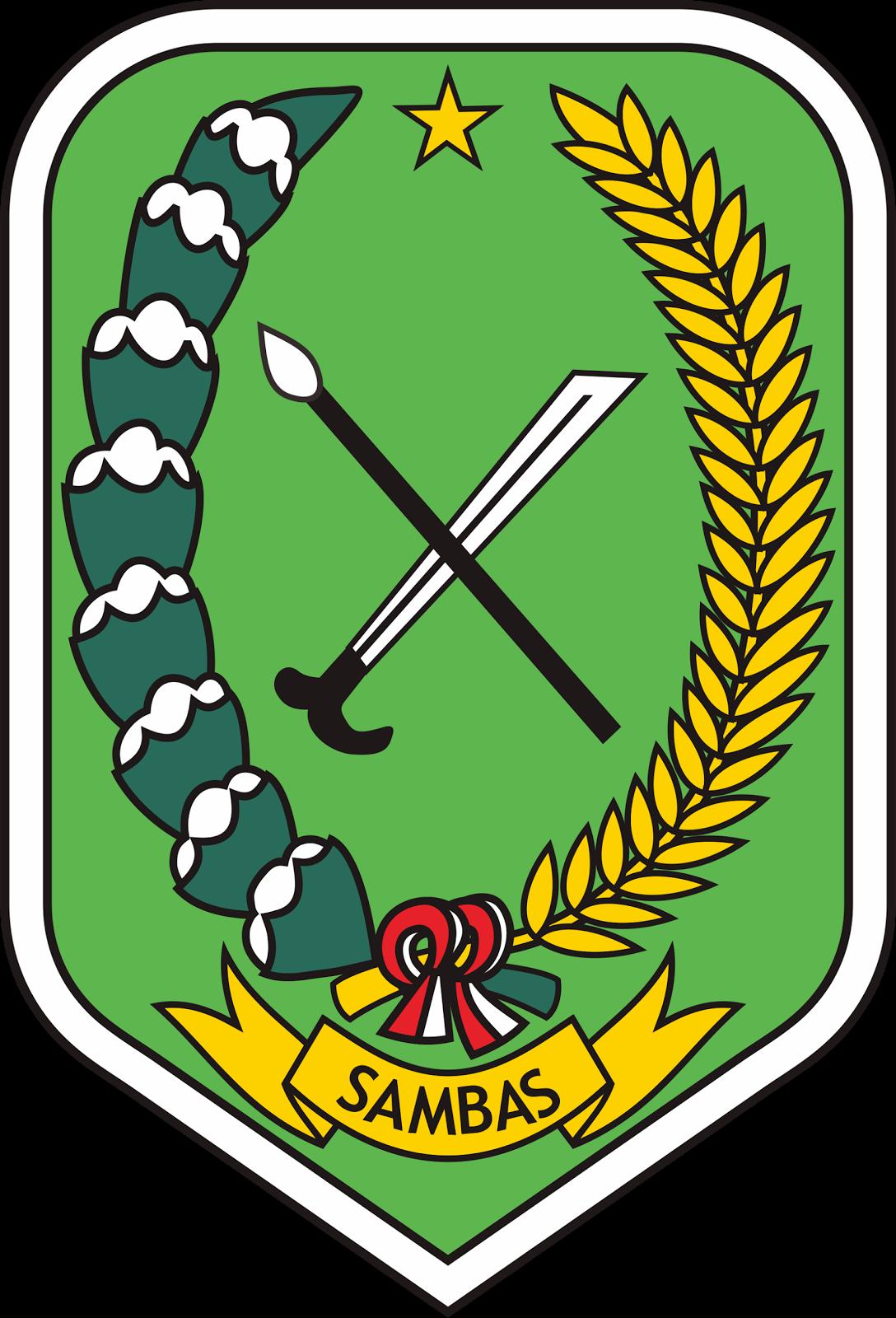 Lambang Logo Logo Kabupaten Sambas
