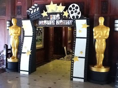 Ritha Design Studio Movie Night Themed Backdrop Amp Props