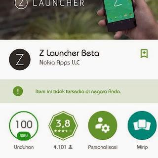 Nokia Z Launcher v1.0.5-beta