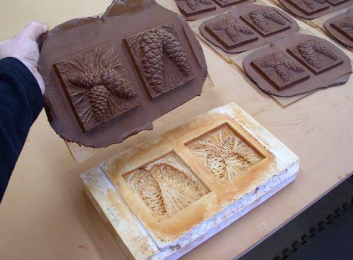Как сделать формы для глины