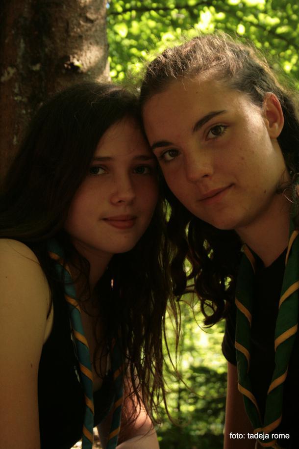 Mia in Klara, foto: Tadeja Rome