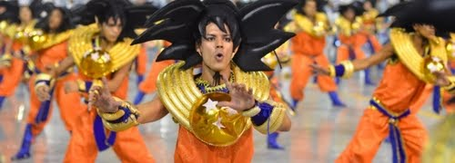 Dragon Ball: Tributo en el Carnaval de Brasil