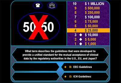Who Wants to Be a Millionaire fifty-fifty