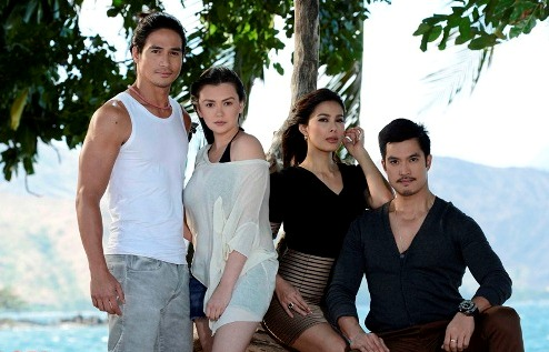 Apoy Sa Dagat stars Piolo, Angelica, Angel and Diether