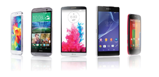 Three best smartphones that are creating a rage in the market .
