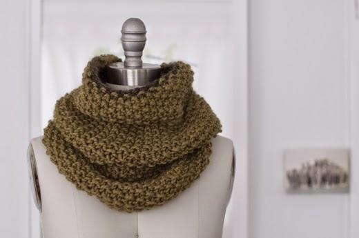 Made By Katrina Free Pattern Easy Knit Infinity Scarf Diy Tutorial