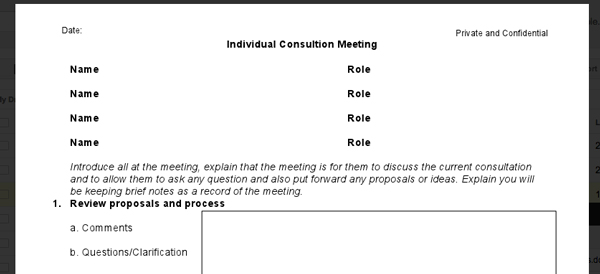 one one one meeting template