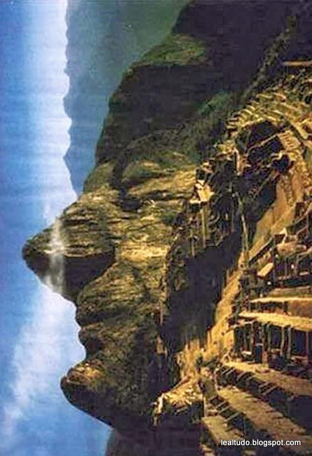 Machu Pichu Face - Rosto - Pareidolia-001