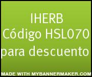 iherb codigo descuento discount coupon code
