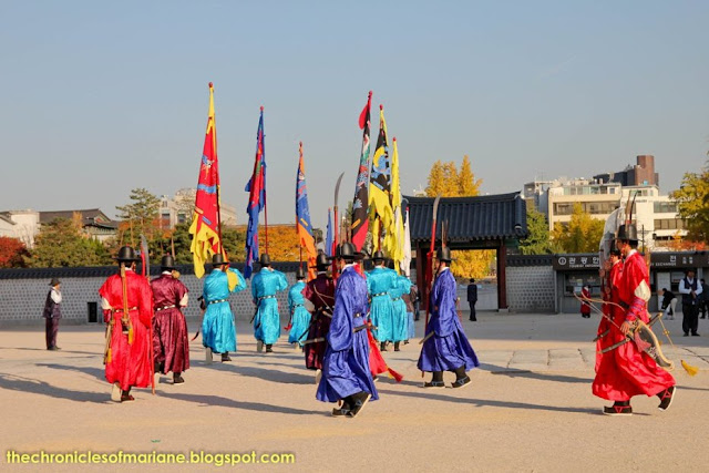 changing of guards seoul