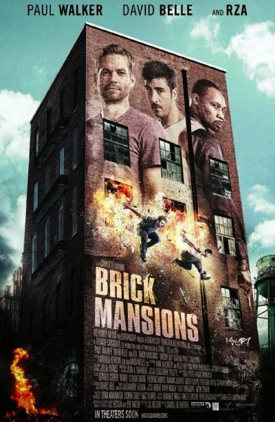 Brick Mansions, starring Paul Walker