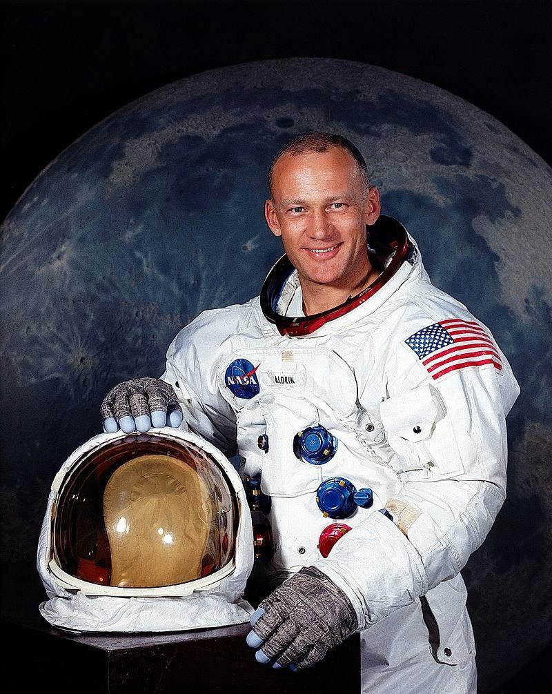 Aldrin, astronauta del Apolo XI