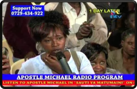 Esther Mwende, Penyembuhan Yesus, Mukjizat Palsu
