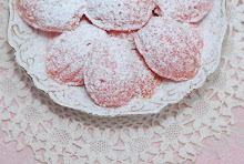 Rosy Pink Shortbread Shells