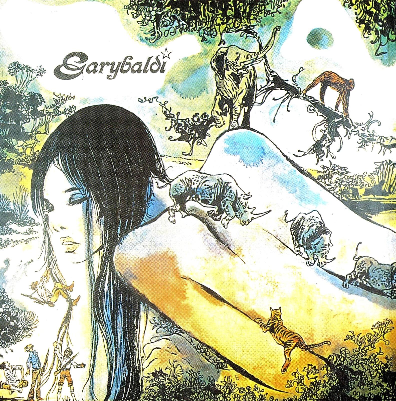 Guido Crepax . Garybaldi . Nuda . 1972