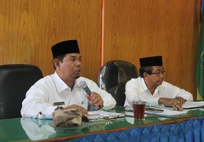 Kakankemenag Tanjungbalai Awali Rapat Koordinasi di Tahun 2016