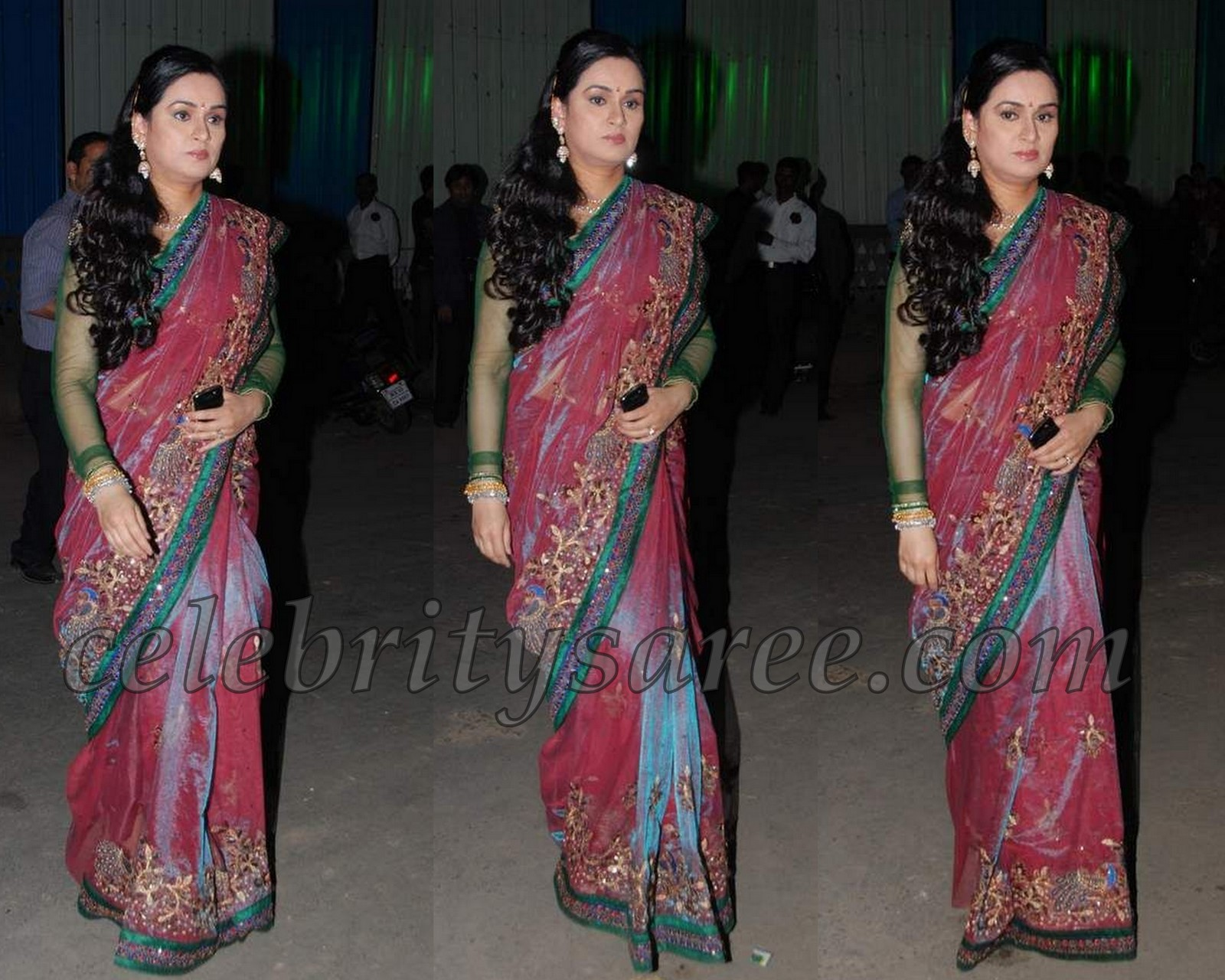 padmini kolhapure in saree - photo #5
