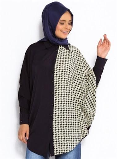 model baju hamil wanita muslim desain casual dan kerja terbaru 2017/2018