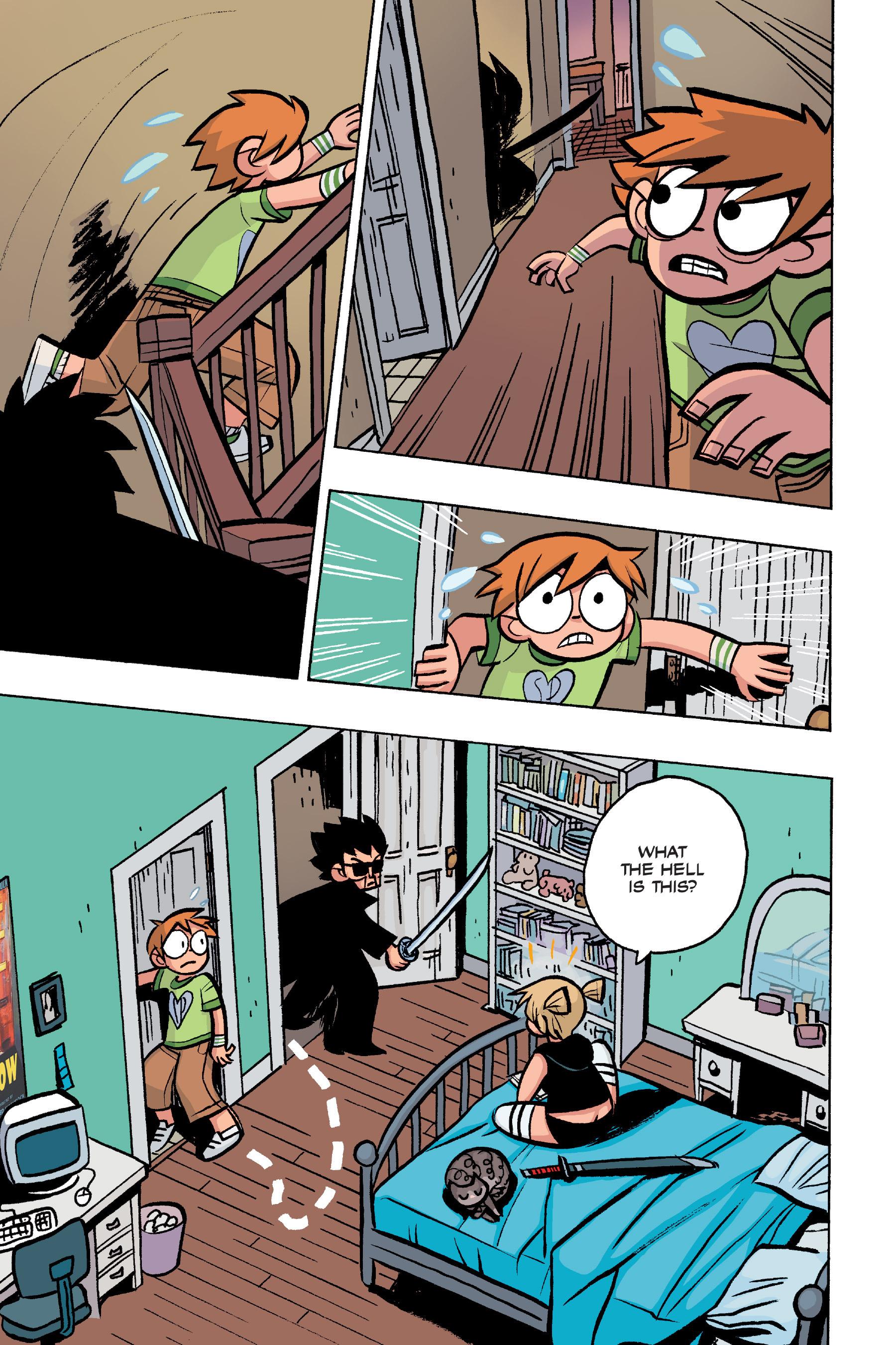 Read online Scott Pilgrim comic -  Issue #4 - 173