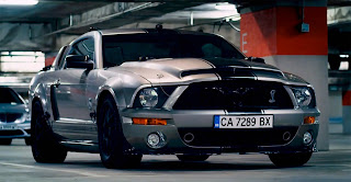 Shelby GT500 Super Snake in 'Getaway' movie.