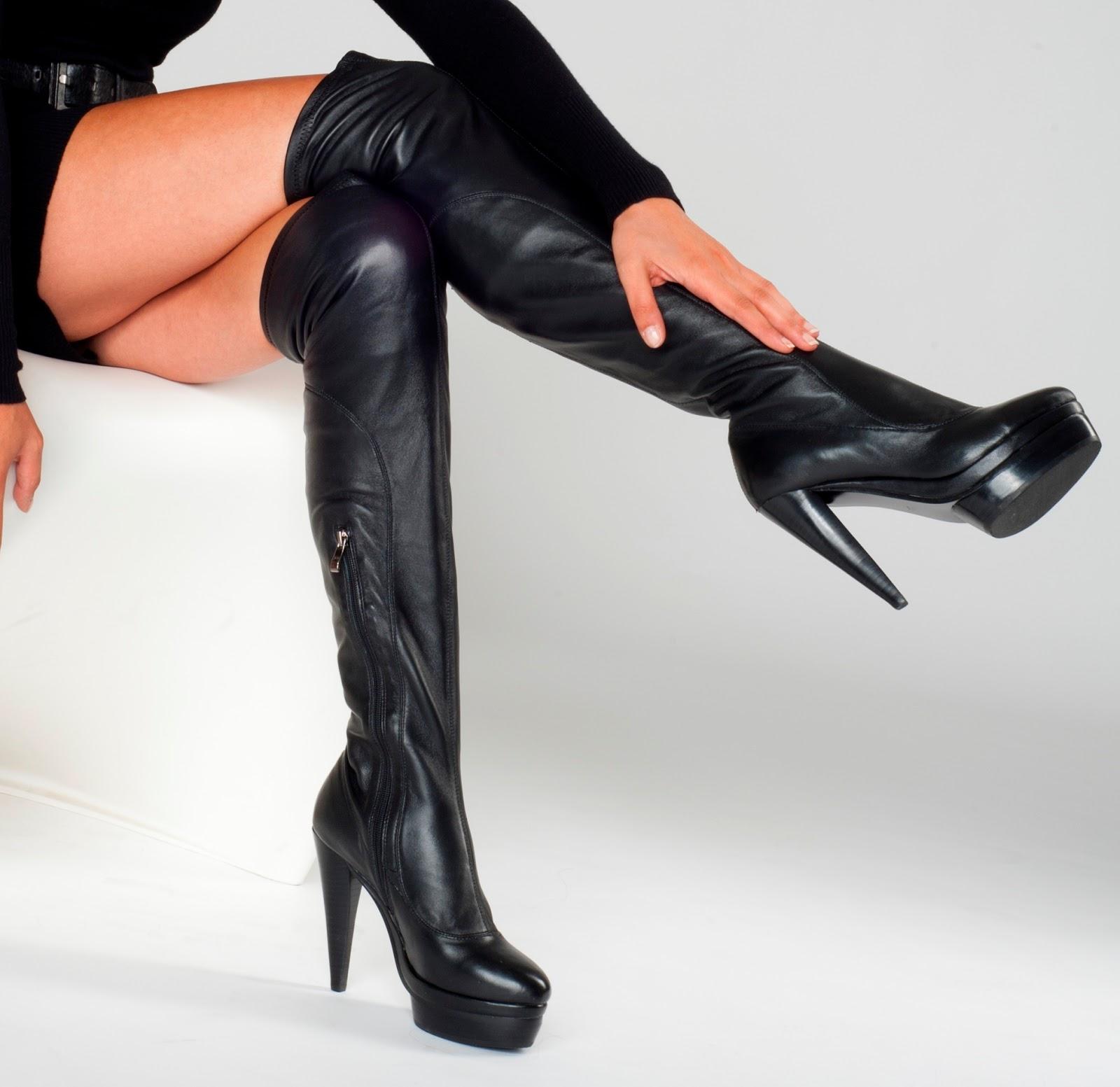arollo stiletto overknee stiefel und sexy lange high heel. Black Bedroom Furniture Sets. Home Design Ideas