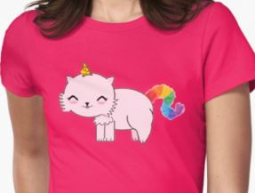 Unicat Tee on RedBubble