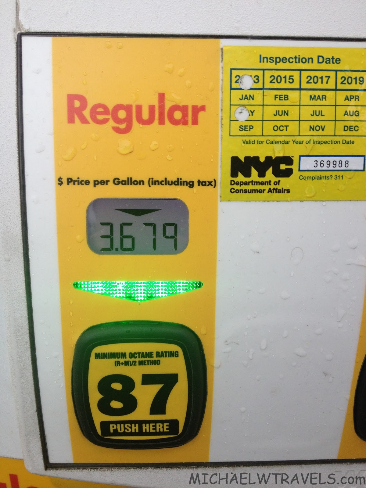 save an additional 20₵ at the pump earn 5x points michael w