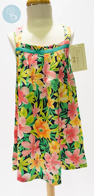 Vestido infantil flores Bimbalina en Tienda y Blog moda infantil Retamal