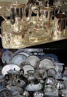 bandejas de prata
