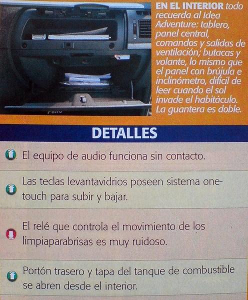 Testeados pruebas y test de autos prueba fiat for Dimensiones fiat idea