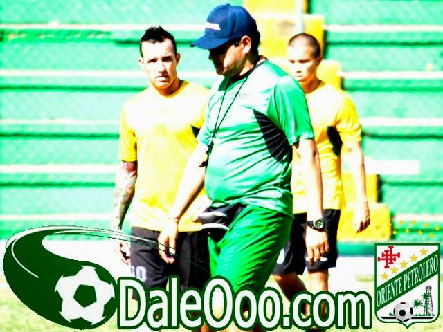 Oriente Petrolero - Eduardo Villegas - Matías García - Entrenamiento Estadio Ramón Tahuichi Aguilera - DaleOoo.com web del Club Oriente Petrolero