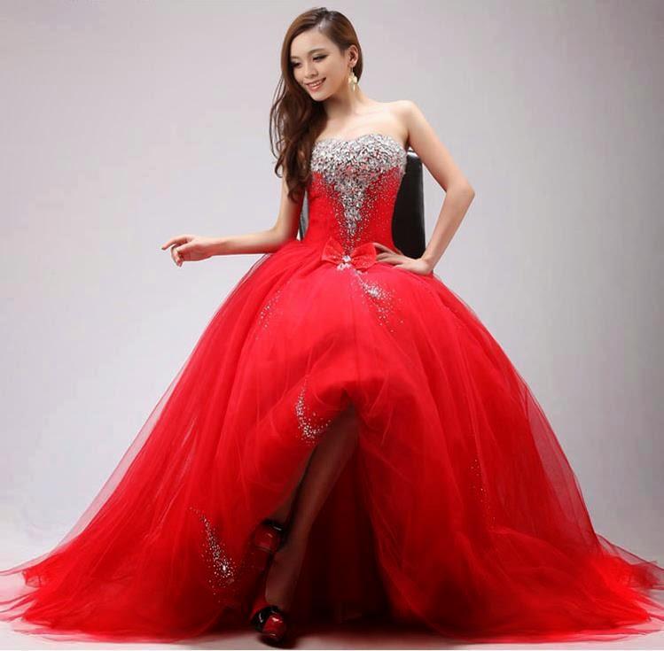 vestido para festas de 15 anos vermelho - dicas