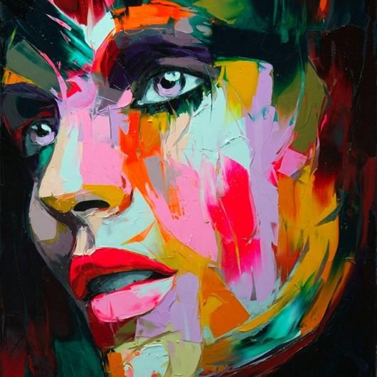 pintura retratos de mujeres