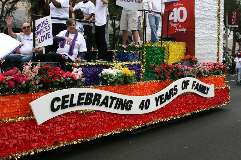 Gay and Lesbian Center Pride Float 2011