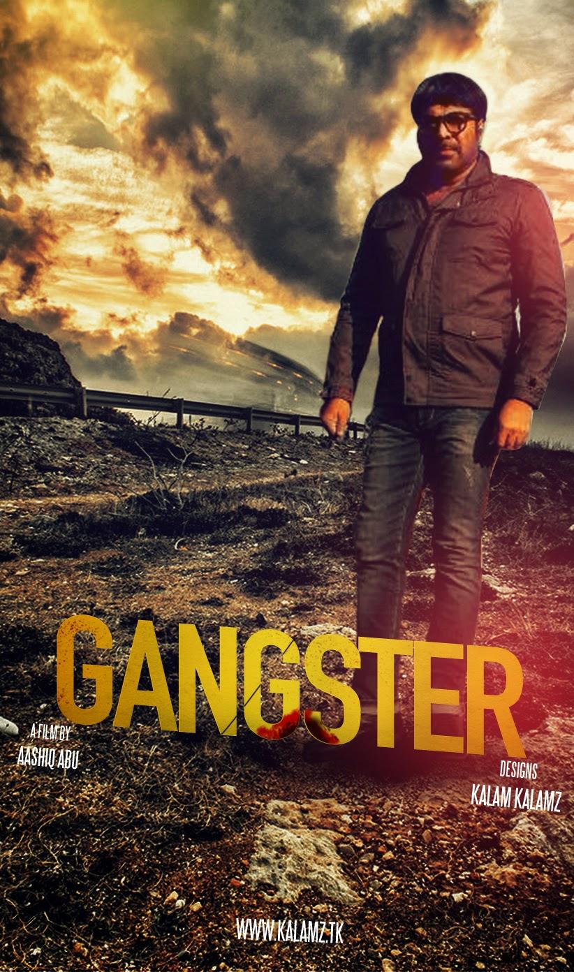 Gangster Malayalam Movie Poster Muhammed Abdul Kalam