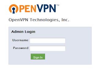 login Openvpn