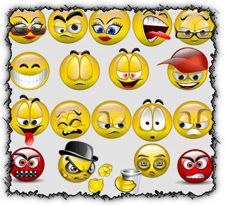 smileys, blogger, coments