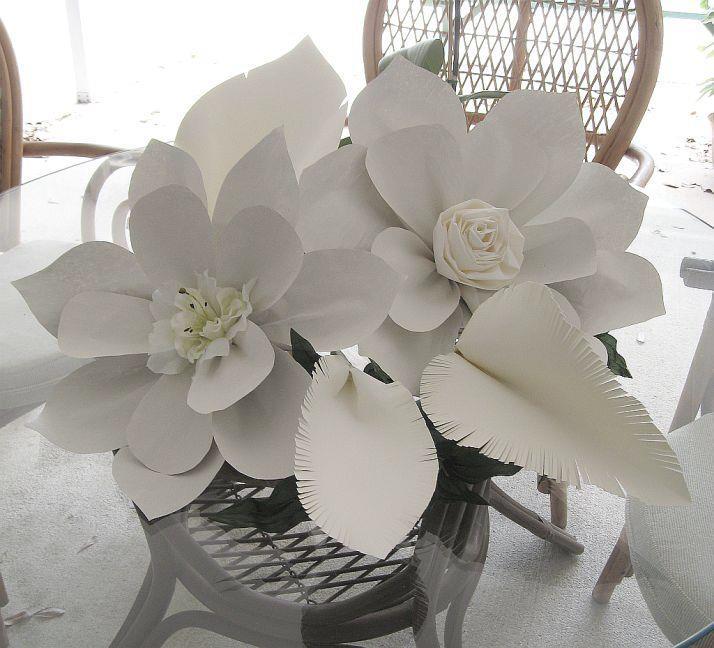 my handmade paper flowers
