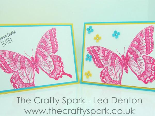 Super Simple Speedy Cards on Sunday #2 - Swallowtail Beauty