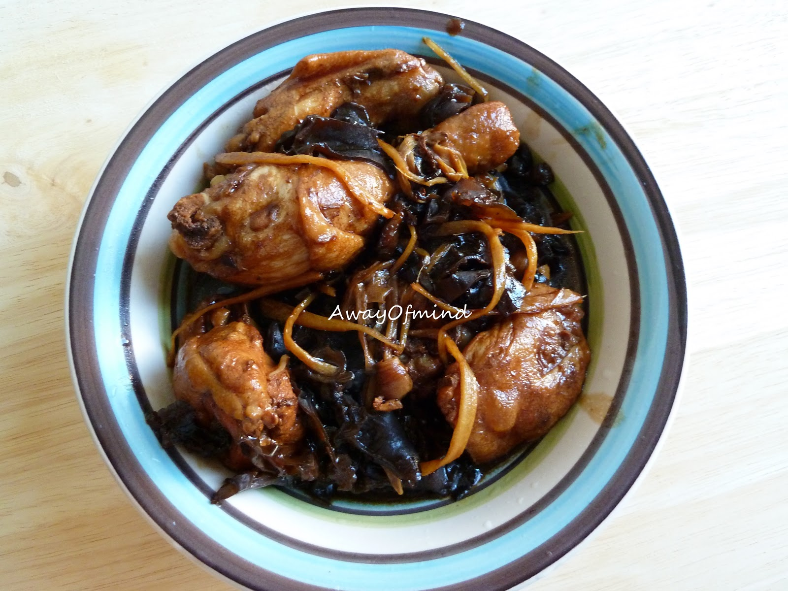 ... quite often, as I love to eat the soft black fungus with white rice