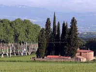 El cementiri de Vilalleons des de la Sala. Autor: Carlos Albacete