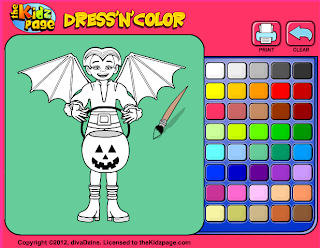 http://www.thekidzpage.com/dress-up-games/dress-up-coloring-halloween-costumes-1.html