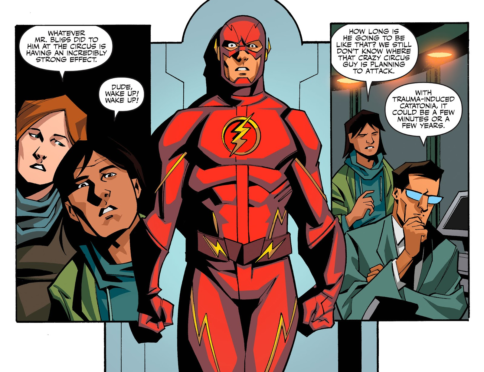 The Flash: Season Zero [I] Issue #7 #7 - English 3