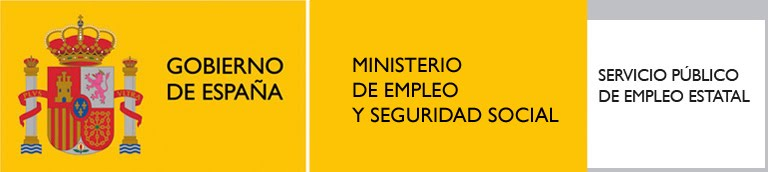 Proyectando logotipo del ministerio de empleo y seguridad for Oficina seguridad social