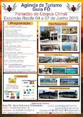Excursão Recife de 04 a 07 de junho 2015