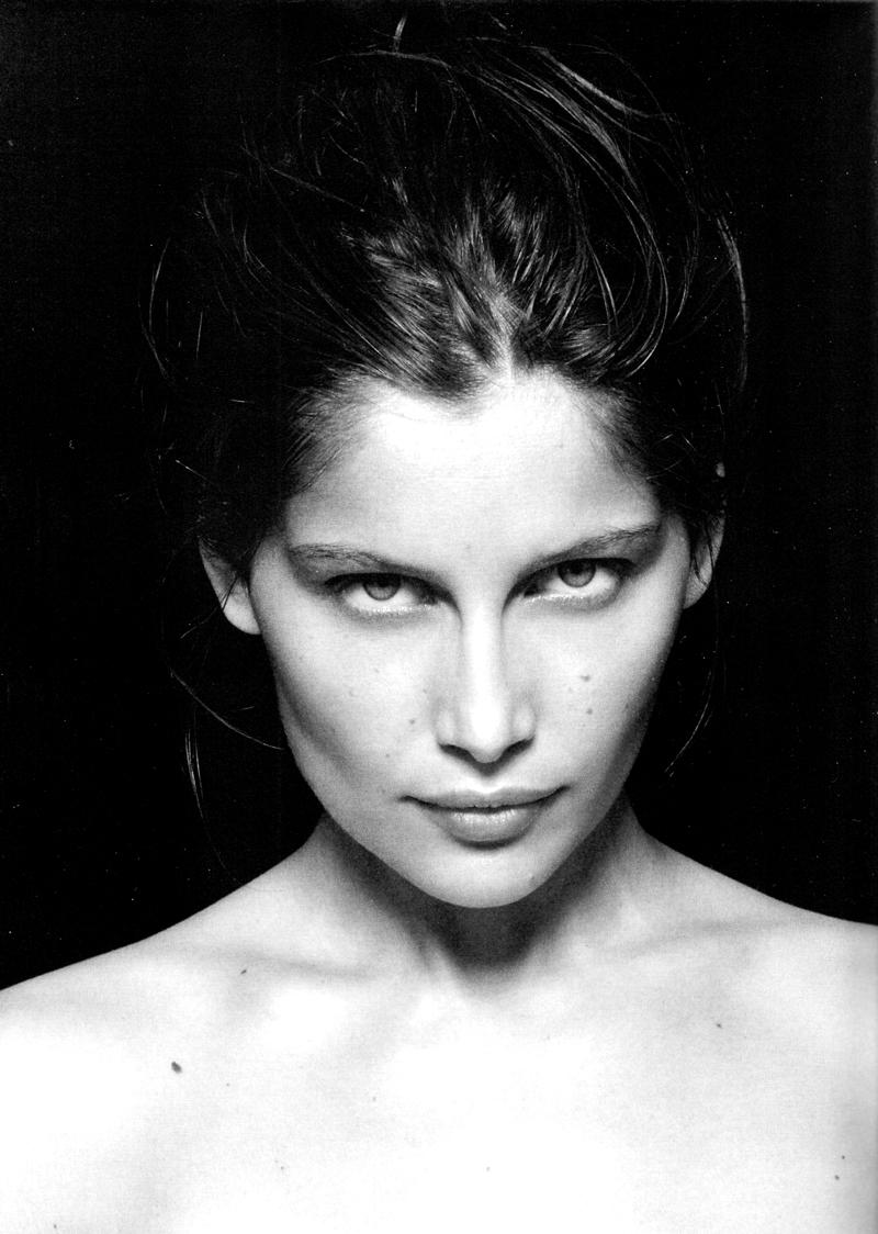 via fashionedbylove | fashion editorials | Laetitia Casta in Stiletto magazine | No.20 | Fall 2008 (photography: Mark Pillai, styling: Barbara Loison)