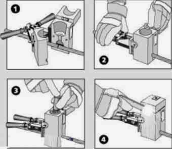 pemasangan sambungan cadweld