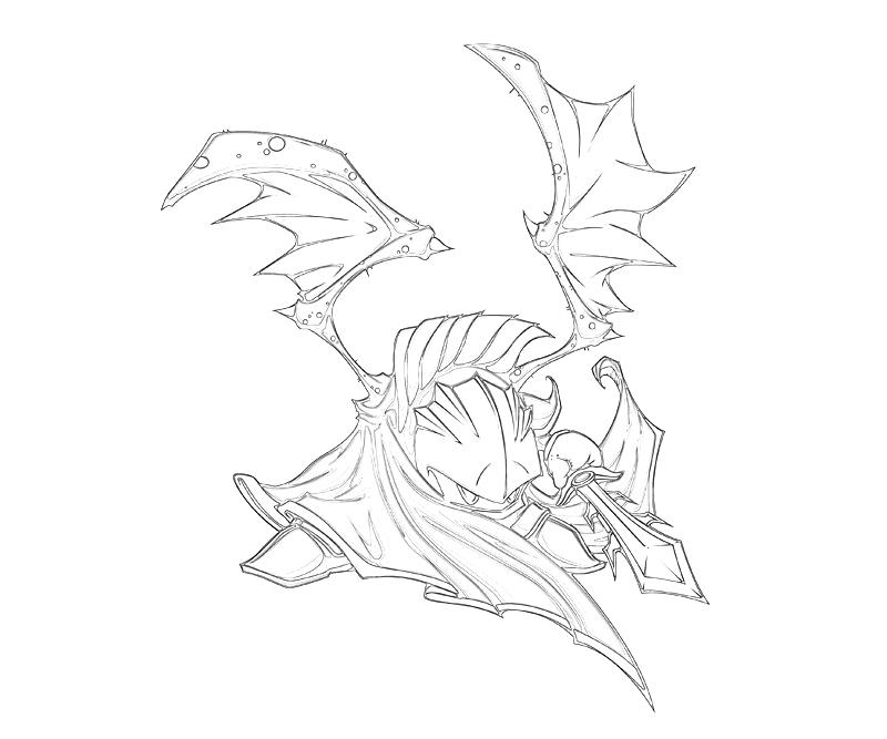 coloring pages of knights and dragons - meta knight dragon temtodasas