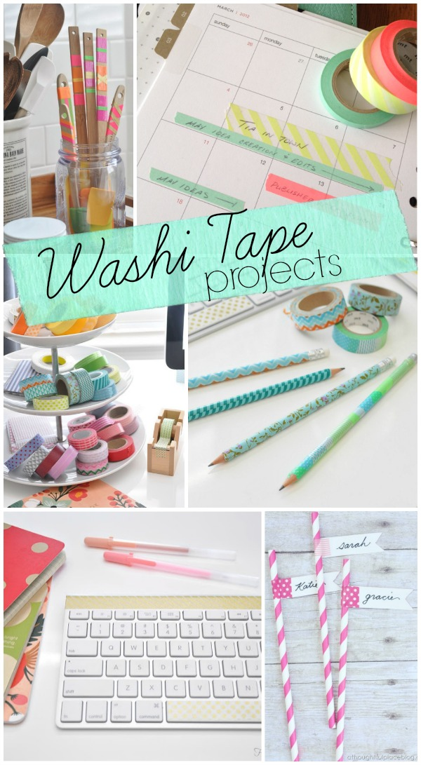 Honey we 39 re home top washi tape projects for What can you do with washi tape