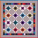 Free pattern!  enchanting stars